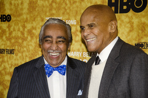 """""""Sing Your Song"""" Premiere Charles Rangel, Harry Belafonte10-6-2011 / Apollo Theater / New York NY / HBO / Photo by Eric Reichbaum - Image 24117_0089"""