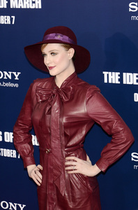 """The Ides of March"" Premiere Evan Rachel Wood10-5-2011 / Ziegfeld Theater / New York NY / Sony Pictures / Photo by Eric Reichbaum - Image 24118_0124"