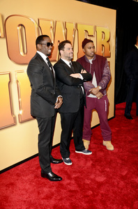 """Tower Heist"" PremiereSean Combs, Brett Ratner, Nasir bin Olu Dara Jones10-24-2011 / Ziegfeld Theater / New York NY / Universal Studios / Photo by Eric Reichbaum - Image 24125_112"