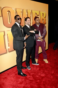 """Tower Heist"" PremiereSean Combs, Brett Ratner, Nasir bin Olu Dara Jones10-24-2011 / Ziegfeld Theater / New York NY / Universal Studios / Photo by Eric Reichbaum - Image 24125_114"