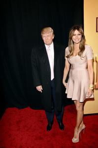 """""""Tower Heist"""" PremiereDonald Trump, Melania Trump10-24-2011 / Ziegfeld Theater / New York NY / Universal Studios / Photo by Eric Reichbaum - Image 24125_124"""