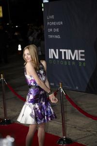 """In Time"" Premiere Amanda Seyfried10-20-2011 / Regency Village Theater / Westwood CA / Regency Pictures / Photo by Kevin Kozicki - Image 24126_0181"