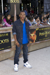 """Puss in Boots"" Premiere Carlon Jeffrey10-23-2011 / Regency Village Theater / Westwood CA / Dreamworks / Photo by Kristin Kirgan - Image 24128_0019"