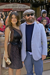 """Puss in Boots"" Premiere Salma Hayek, Zach Galifianakis 10-23-2011 / Regency Village Theater / Westwood CA / Dreamworks / Photo by Kristin Kirgan - Image 24128_0129"