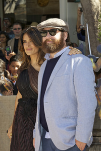 """Puss in Boots"" Premiere Salma Hayek, Zach Galifianakis 10-23-2011 / Regency Village Theater / Westwood CA / Dreamworks / Photo by Kristin Kirgan - Image 24128_0132"