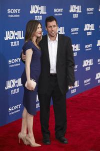 """Jack and Jill"" Premiere Adam Sandler, Jackie Sandler11-6-2011 / Regency Village Theater / Westwood CA / Sony Pictures / Photo by Kevin Kozicki - Image 24135_0023"