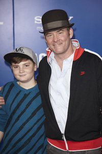 """""""Jack and Jill"""" Premiere David Koechner, Charles Koechner11-6-2011 / Regency Village Theater / Westwood CA / Sony Pictures / Photo by Kevin Kozicki - Image 24135_0135"""