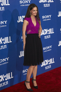 """Jack and Jill"" Premiere Katie Holmes11-6-2011 / Regency Village Theater / Westwood CA / Sony Pictures / Photo by Kevin Kozicki - Image 24135_0189"