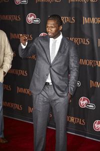 """Immortals"" Premiere 50 Cent11-7-2011 / Nokia Theater LA Live / Los Angeles CA / Relativity Media / Photo by Benny Haddad - Image 24136_0072"