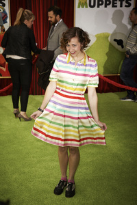 """""""The Muppets"""" Premiere Kristen Schaal11-12-2011 / El Capitan Theater / Hollywood CA / Walt Disney Pictures / Photo by Kevin Kozicki - Image 24138_0077"""