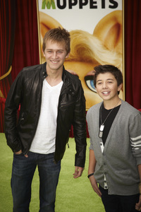 """""""The Muppets"""" Premiere Jason Dolley, Bradley Steven Perry11-12-2011 / El Capitan Theater / Hollywood CA / Walt Disney Pictures / Photo by Kevin Kozicki - Image 24138_0150"""