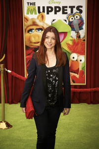 """""""The Muppets"""" Premiere Alyson Hannigan11-12-2011 / El Capitan Theater / Hollywood CA / Walt Disney Pictures / Photo by Kevin Kozicki - Image 24138_0270"""
