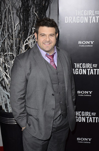 """""""The Girl with the Dragon Tattoo"""" Premiere Adam Richman12-14-2011 / Ziegfeld Theater / New York NY / Sony Pictures / Photo by Eric Reichbaum - Image 24142_0079"""