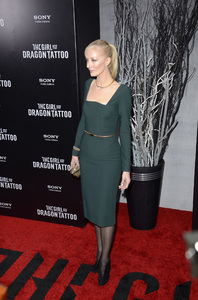 """""""The Girl with the Dragon Tattoo"""" Premiere Joely Richardson12-14-2011 / Ziegfeld Theater / New York NY / Sony Pictures / Photo by Eric Reichbaum - Image 24142_0096"""