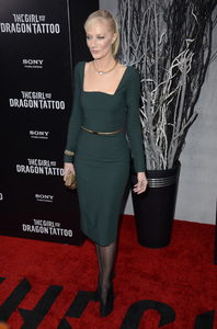"""The Girl with the Dragon Tattoo"" Premiere Joely Richardson12-14-2011 / Ziegfeld Theater / New York NY / Sony Pictures / Photo by Eric Reichbaum - Image 24142_0097"