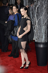"""The Girl with the Dragon Tattoo"" Premiere Rooney Mara12-14-2011 / Ziegfeld Theater / New York NY / Sony Pictures / Photo by Eric Reichbaum - Image 24142_0148"