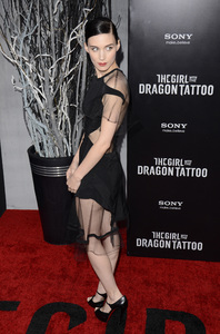 """""""The Girl with the Dragon Tattoo"""" Premiere Rooney Mara12-14-2011 / Ziegfeld Theater / New York NY / Sony Pictures / Photo by Eric Reichbaum - Image 24142_0168"""