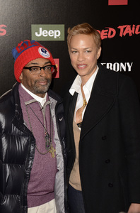 """Red Tails"" Premiere Spike Lee and Tonya Lewis Lee1-10-2012 / Ziegfeld Theater / New York NY / Twentieth Century Fox / Photo by Eric Reichbaum - Image 24144_0216"