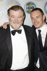 """HBO Post Golden Globe Party"" Brendan Gleeson, Michael Fassbender1-15-2012 / Circa 55 / Los Angeles CA / Photo by Kevin Kozicki - Image 24146_0043"