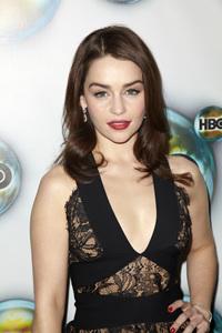 """HBO Post Golden Globe Party"" Emilia Clarke1-15-2012 / Circa 55 / Los Angeles CA / Photo by Kevin Kozicki - Image 24146_0118"