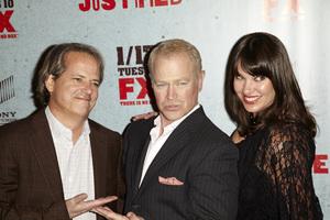 """Justified"" Premiere Neal McDonough; Ruve McDonough1-10-2012 / Director"