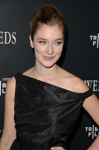 """Newlyweds"" Premiere Caitlin Fitzgerald1-11-2012 / Crosby Street Hotel / New York NY / Tribeca Film / Photo by Eric Reichbaum - Image 24148_0008"
