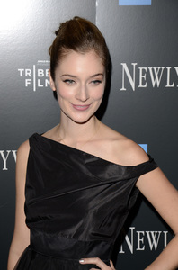 """Newlyweds"" Premiere Caitlin Fitzgerald1-11-2012 / Crosby Street Hotel / New York NY / Tribeca Film / Photo by Eric Reichbaum - Image 24148_0019"
