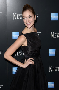 """Newlyweds"" Premiere Caitlin Fitzgerald1-11-2012 / Crosby Street Hotel / New York NY / Tribeca Film / Photo by Eric Reichbaum - Image 24148_0209"