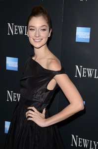 """Newlyweds"" Premiere Caitlin Fitzgerald1-11-2012 / Crosby Street Hotel / New York NY / Tribeca Film / Photo by Eric Reichbaum - Image 24148_0231"