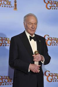 """The Golden Globe Awards - 69th Annual"" (Press Room) Christopher Plummer1-15-2012 © 2012 Jean Cummings - Image 24150_0007"