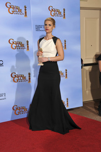 """""""The Golden Globe Awards - 69th Annual"""" (Press Room) Claire Danes1-15-2012 © 2012 Jean Cummings - Image 24150_0011"""