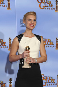 """The Golden Globe Awards - 69th Annual"" (Press Room) Claire Danes1-15-2012 © 2012 Jean Cummings - Image 24150_0012"
