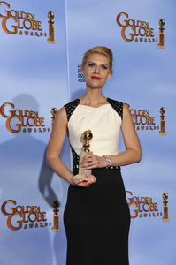 """""""The Golden Globe Awards - 69th Annual"""" (Press Room) Claire Danes1-15-2012 © 2012 Jean Cummings - Image 24150_0013"""
