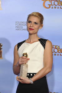 """""""The Golden Globe Awards - 69th Annual"""" (Press Room) Claire Danes1-15-2012 © 2012 Jean Cummings - Image 24150_0014"""
