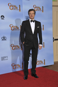 """""""The Golden Globe Awards - 69th Annual"""" (Press Room) Colin Firth1-15-2012 © 2012 Jean Cummings - Image 24150_0016"""
