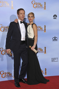 """""""The Golden Globe Awards - 69th Annual"""" (Press Room) Claire Danes, Damian Lewis1-15-2012 © 2012 Jean Cummings - Image 24150_0019"""