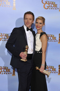 """""""The Golden Globe Awards - 69th Annual"""" (Press Room) Claire Danes, Damian Lewis1-15-2012 © 2012 Jean Cummings - Image 24150_0022"""