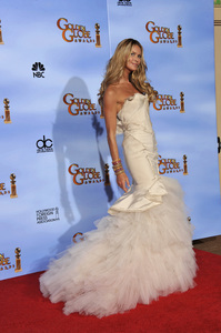 """The Golden Globe Awards - 69th Annual"" (Press Room) Elle MacPherson1-15-2012 © 2012 Jean Cummings - Image 24150_0025"