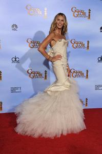 """The Golden Globe Awards - 69th Annual"" (Press Room) Elle MacPherson1-15-2012 © 2012 Jean Cummings - Image 24150_0028"