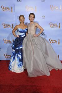 """The Golden Globe Awards - 69th Annual"" (Press Room) Sarah Michelle Gellar, Piper Perabo1-15-2012 © 2012 Jean Cummings - Image 24150_0033"