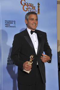 """""""The Golden Globe Awards - 69th Annual"""" (Press Room) George Clooney1-15-2012 © 2012 Jean Cummings - Image 24150_0035"""