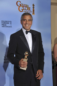 """""""The Golden Globe Awards - 69th Annual"""" (Press Room) George Clooney1-15-2012 © 2012 Jean Cummings - Image 24150_0036"""