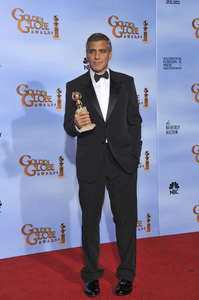 """""""The Golden Globe Awards - 69th Annual"""" (Press Room) George Clooney1-15-2012 © 2012 Jean Cummings - Image 24150_0038"""