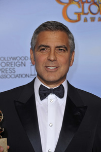 """""""The Golden Globe Awards - 69th Annual"""" (Press Room) George Clooney1-15-2012 © 2012 Jean Cummings - Image 24150_0041"""