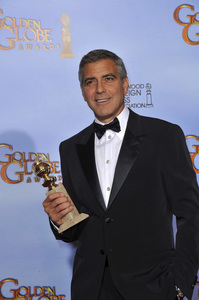 """""""The Golden Globe Awards - 69th Annual"""" (Press Room) George Clooney1-15-2012 © 2012 Jean Cummings - Image 24150_0042"""