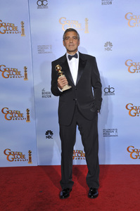 """""""The Golden Globe Awards - 69th Annual"""" (Press Room) George Clooney1-15-2012 © 2012 Jean Cummings - Image 24150_0043"""