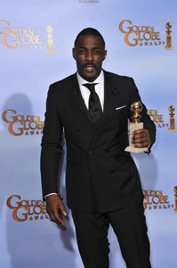 """The Golden Globe Awards - 69th Annual"" (Press Room) Idris Elba1-15-2012 © 2012 Jean Cummings - Image 24150_0044"