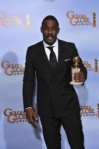 """The Golden Globe Awards - 69th Annual"" (Press Room) Idris Elba1-15-2012 © 2012 Jean Cummings - Image 24150_0044"