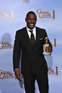 """The Golden Globe Awards - 69th Annual"" (Press Room) Idris Elba1-15-2012 © 2012 Jean Cummings - Image 24150_0045"