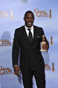 """The Golden Globe Awards - 69th Annual"" (Press Room) Idris Elba1-15-2012 © 2012 Jean Cummings - Image 24150_0045"